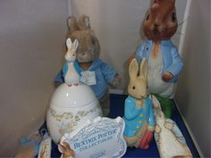 Beatrix Potter - Peter Rabbit Collectibles On-Line ONLY Auction, Bidding Opens Thursday, June 29, 2017 at 6:00 AM Central,  Bidding Closes Sunday, July 30, 2017 starting at 2:00 PM Central.  402-463-8565 Ruhter Auction & Realty, Inc. ruhterauction.com