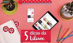Curso Online de Como usar o Pinterest para aumentar suas vendas – Cinco dicas da Liliane. ✓ Aprenda com experts ✓ Certificado Reconhecido ✓ Experimente 7 dias grátis na eduK.