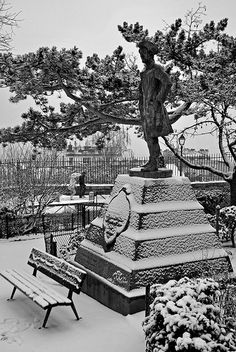Chevalier de la Barre, Montmartre