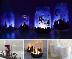 Turn old jars into these Magical Christmas Lanterns that will look amazing decorating your home these holidays!