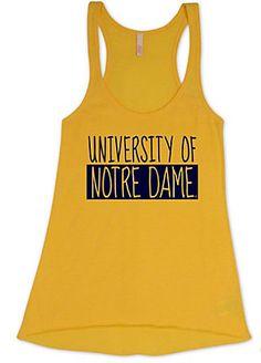 MV Sport University of Notre Dame Women's Tank Top