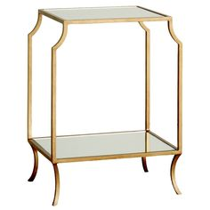 Milla Small Side Table (Gold)
