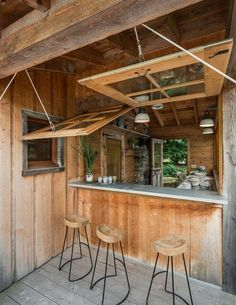 expert tips to diy your own backyard bar shed
