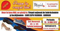Mopiel.ro vă așteaptă la: CAVI EXPO FASHION – GIURGIU