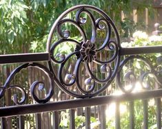 Decorative Wrought Iron Fencing Phoenix | Sun King Fencing