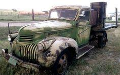 1940 Chevrolet Truck: Green & Mean! - http://barnfinds.com/1940-chevrolet-truck-green-mean/