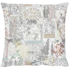 Herbstkissen in Pastelltönen - Kissen Art. 3305 von Apelt, Baumwolldruck