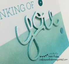 Crazy About You PLUS Hello You Thinlits! :: Confessions of a Stamping Addict Lorri Heiling