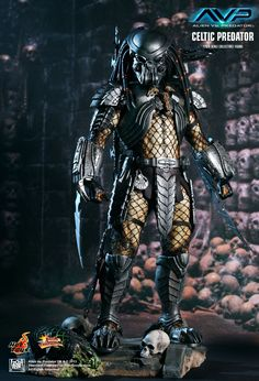 Hot Toys : Alien vs. Predator - Celtic Predator 1/6th scale Collectible Figure