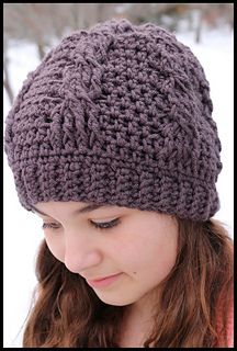 Ravelry: Classic Chunky Cable Hat pattern by Crochet Supernova
