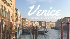There is no better way to discover Venice than allowing yourself to get lost in its charming labyrinth of streets and waterways. However, a Venice itinerary can come in handy if you have limited time in the city or you want to make sure you don't miss specific landmarks. We are just recently back from …
