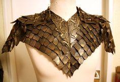 Legolas shoulder armor costume cosplay The Hobbit by VoltoNero on Etsy