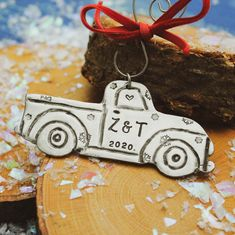 Pick Up Truck Christmas Ornament Personalized Truck Ornament | Etsy