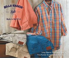 Patrick James - American-Made Quality From BILLS KHAKIS