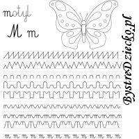 Nauka pisania literek i szlaczki dla dzieci Origami, Words, Origami Paper, Origami Art, Horse