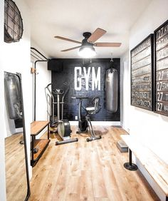 home gym ideas small ~ home gym _ home gym ideas _ home gym ideas small _ home gym decor _ home gym design _ home gym ideas garage _ home gym garage _ home gym ideas basement Home Gym Basement, Home Gym Garage, Diy Home Gym, Home Gym Decor, Gym Room At Home, Workout Room Home, Basement Remodeling, Workout Room Decor, Basement Workout Room