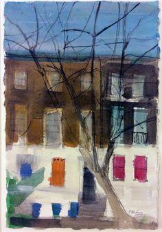 London Trees Sketch, 2014 watercolour on paper Watercolour, Watercolor Paintings, Tree Sketches, Trees, London, Paper, Drawings, Prints, Art