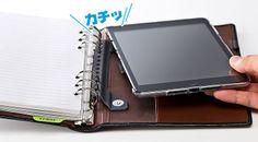 iPad miniシステム手帳ケース