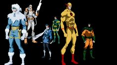 Reverse a Flash and the Rogues