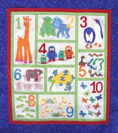 counting quilt for kids