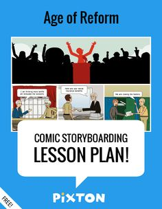 Your students will love writing about UNITED STATES HISTORY with Pixton comics and storyboards! This FREE lesson plan features a Teacher Guide and themed props. PLUS 3 awesome activities with interactive rubrics and student examples.