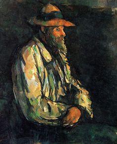 Portrait of Vallier, par Paul Cézanne