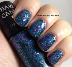 Hard Candy - mermaid magic. Swatched on nail wheel