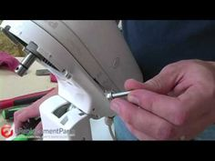 When a KitchenAid stand mixer leaks oil, replacing the old grease in its gearbox with new grease is the way to solve the problem. In this video, Mark demonstrates exactly how to replace the grease in a KitchenAid mixer.     Get KitchenAid grease at this link!:  http://www.ereplacementparts.com/grease-planetary-p-719496.html    For KitchenAid mixer pa...