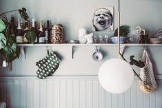 Green Barn, Vignette Design, Bradford, Home Kitchens, Tiny Kitchens, Decorating Blogs, Simple House, Interior Inspiration, Floating Shelves