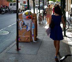 Art is Trash NYC - Francisco de Pájaro Street Art NYC