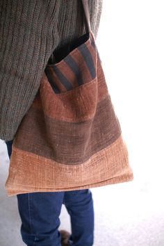 This bag is the bag which Masami Yokoyama made. I use this bag for one year.