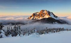 Veľký Rozsutec (1,609.7 m; Slovakia) is a mountain situated in the Malá Fatra.