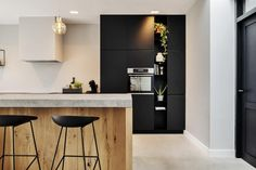 Kitchen Design, Interior, Modern, House, Furniture, Home Decor, Marimo, Middle, Flat