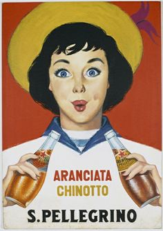 Sanpellegrino history is full of magic posters everybody would love to have, just to feel the mood of those amazing years.