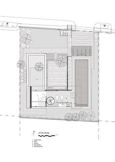 The Courtyard House,Plan