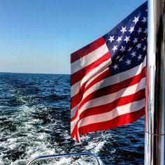 #sailing #flags #usa