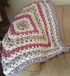 Softest & coziness crocheted afghan!!