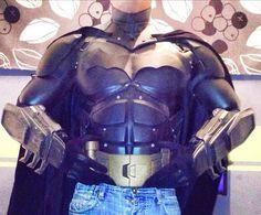 BATMAN: ARKHAM ORIGINS Costume Made Using 3D Printer — GeekTyrant