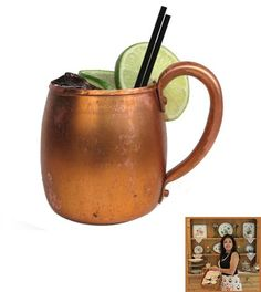 Moscow Mule #cocktail a 1950′s throwback worth revisiting! @gooddinnermrsme #food #drink