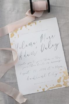 An invitation design studio based in New Zealand, designing for the world! Specialising in custom wedding invitations & stationery design, Just My Type caters to all you events stationery needs…