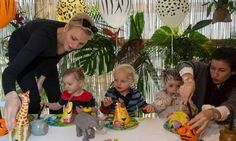 December 2016: Prince Jacques and Princess Gabriella had a wild time at their jungle-themed surprise second birthday party on December 7. <br><br>Photo: © Kasia Wandycz/Palais Princier