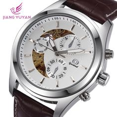 Find More Wristwatches Information about 2015 New Arrival Luxury Brand Gucamel Business Men Watch Half Auto Mechanical Leather Cystal Men's Casual Watches Wristwatch,High Quality wristwatch phone,China watch oem Suppliers, Cheap watch heart rate calories from Smart Feeling boutiques on Aliexpress.com