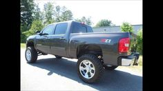 2011 Chevy Silverado 1500 LT Crew Cab Short Bed 7.5 Inch Lifted Truck http://www.onlyliftedtrucks.com