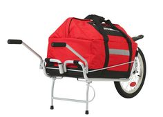 Maya Cycle bicycle trailer. Has 60L bag to fit.