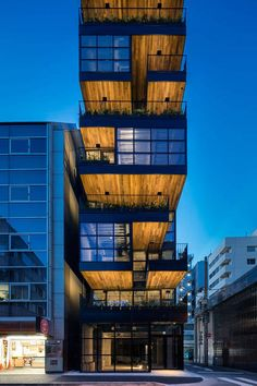 Here is what you need to know about japanese arquitecture – Modern Home Commercial Architecture, Japanese Architecture, Futuristic Architecture, Facade Architecture, Beautiful Architecture, Facade Lighting, Exterior Lighting, Small Buildings, Building Facade