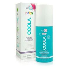 Our Mineral Baby Organic Sunscreen Lotion SPF 50 is our purest lotion sunscreen, designed to safeguard the most precious and delicate skin. Coola Sunscreen, Sunscreen Spf 50, Facial Sunscreen, Rich Girl Hair, Broad Spectrum Sunscreen, Sun Care, Minerals, Moisturizer, Design