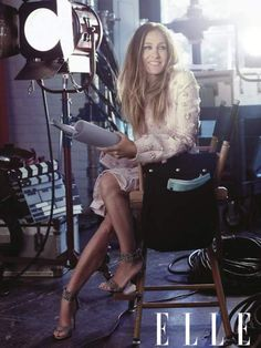 Sarah Jessica Parker in the Director's Chair