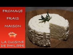 Fromage frais maison - YouTube Pudding, Cheese, Desserts, Food, Goat Milk, Strawberry Fruit, Program Management, Tailgate Desserts, Deserts