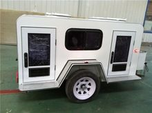Dog Trailer, Dog Trailer direct from Jinan Jinli Hydraulic Machinery Co. in China (Mainland) Dog Trailer, Small Tent, Vet Med, Dog Rooms, Working Dogs, Dog Houses, Small Dogs, Recreational Vehicles, Crates