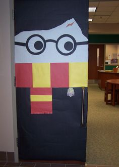 My Handiwork Lizgray317 Harry Potter Door Elementary